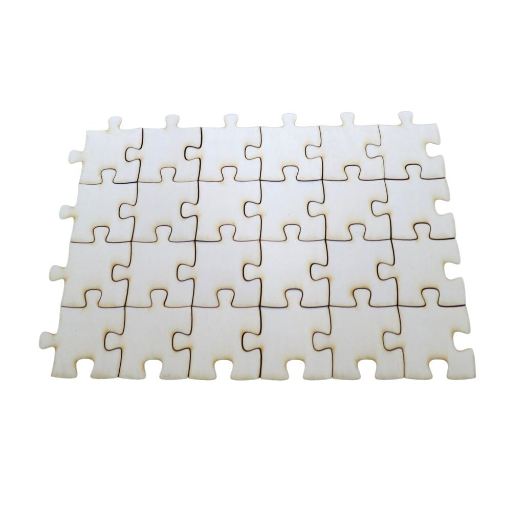 erweiterung 24 kleine puzzleteile holzpuzzle hochzeitspuzzle geschenke. Black Bedroom Furniture Sets. Home Design Ideas